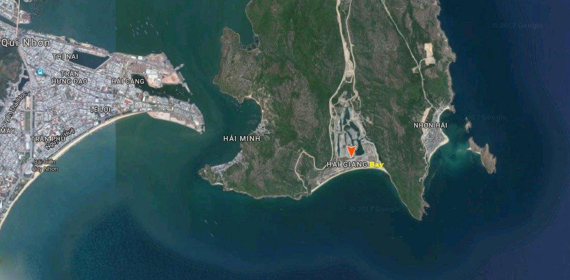 dự án hải giang merry land - vị trí dự án