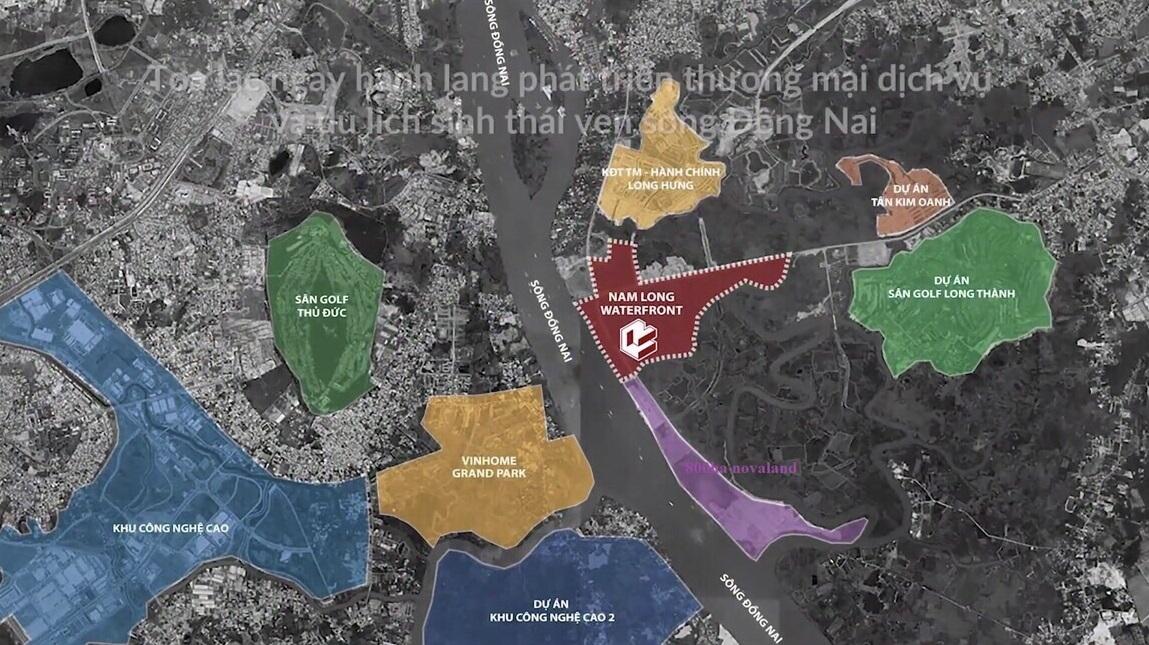 dự án biên hòa new city - vị trí dự án
