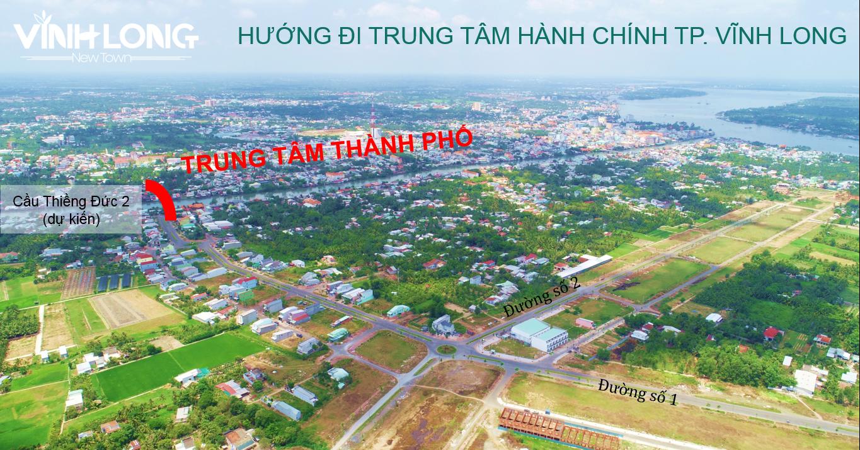 dự án vĩnh long new town - mặt bằng dự án