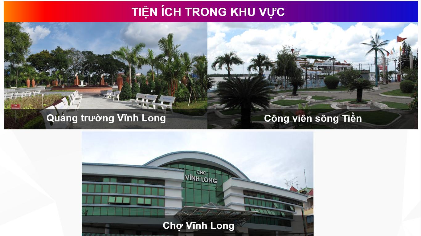 dự án vĩnh long new town - tiện ích dự án