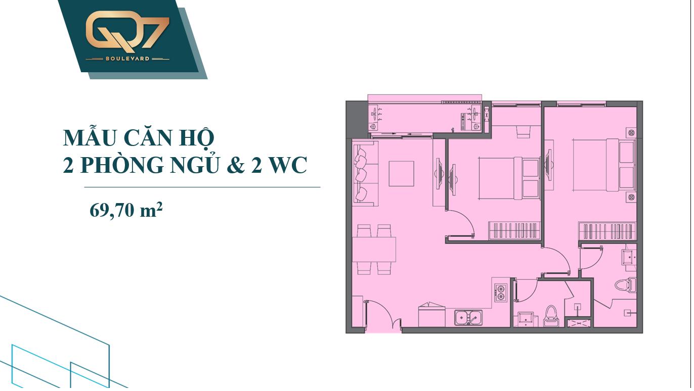 Căn hộ Q7 Boulevard  - thiết kê căn hộ