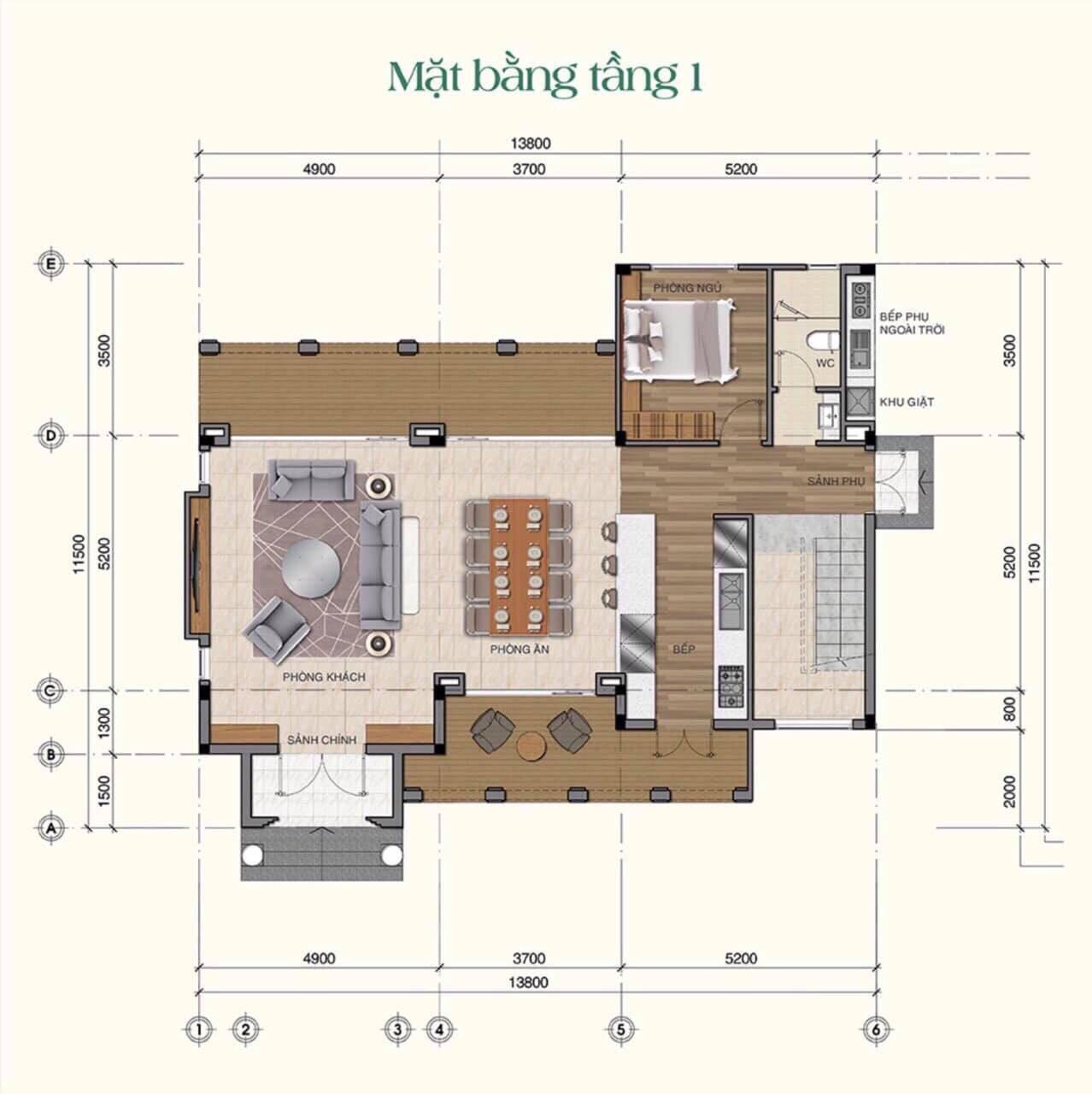 dự án saigon garden riverside village - thiết kế biệt thự