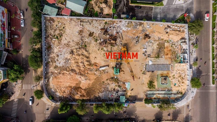 Cập nhật tiến độ dự án Grand Center Quy Nhon