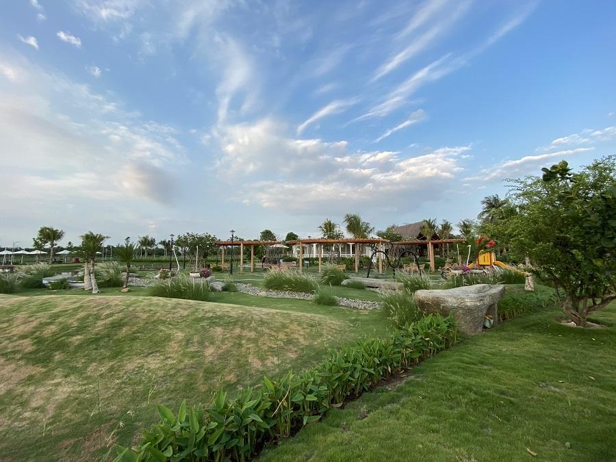 dự án saigon garden riverside village - hình ảnh thực tế