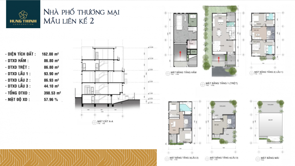 dự án saigon mystery villas - mẫu thiết kế