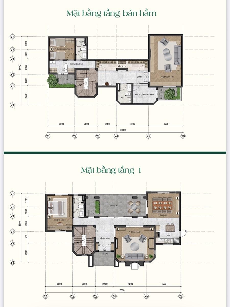 dự án saigon garden riverside village - mẫu biệt thự