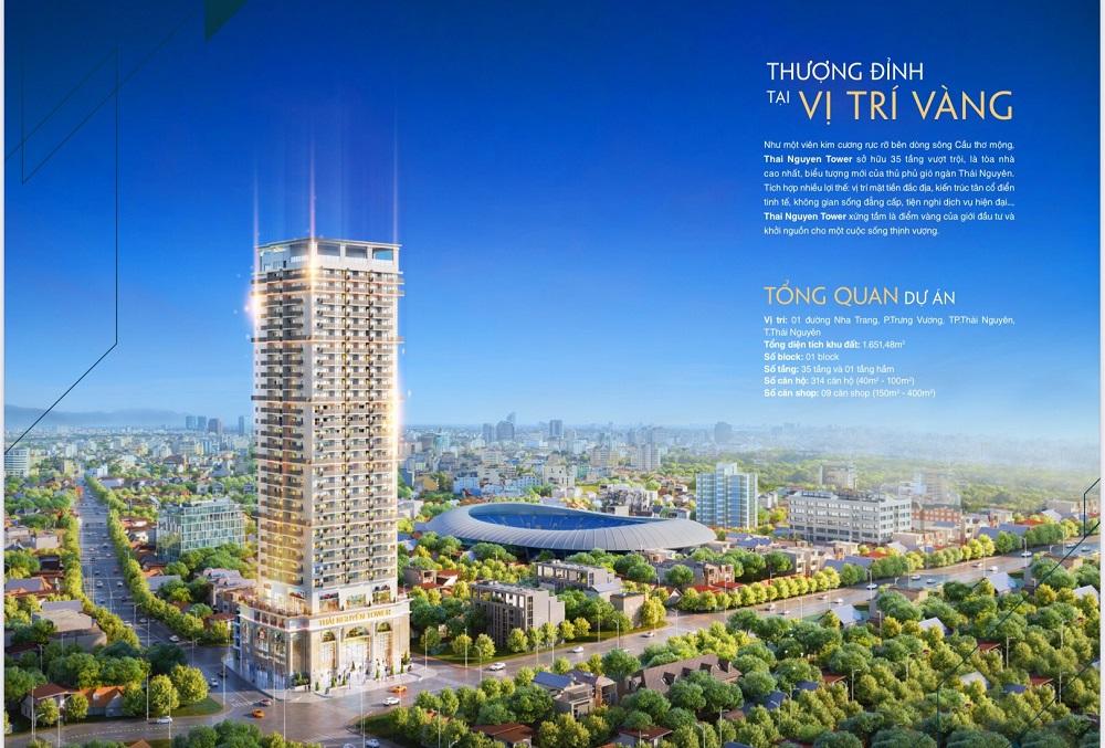 dự án thái nguyên tower hưng thịnh - tổng quan