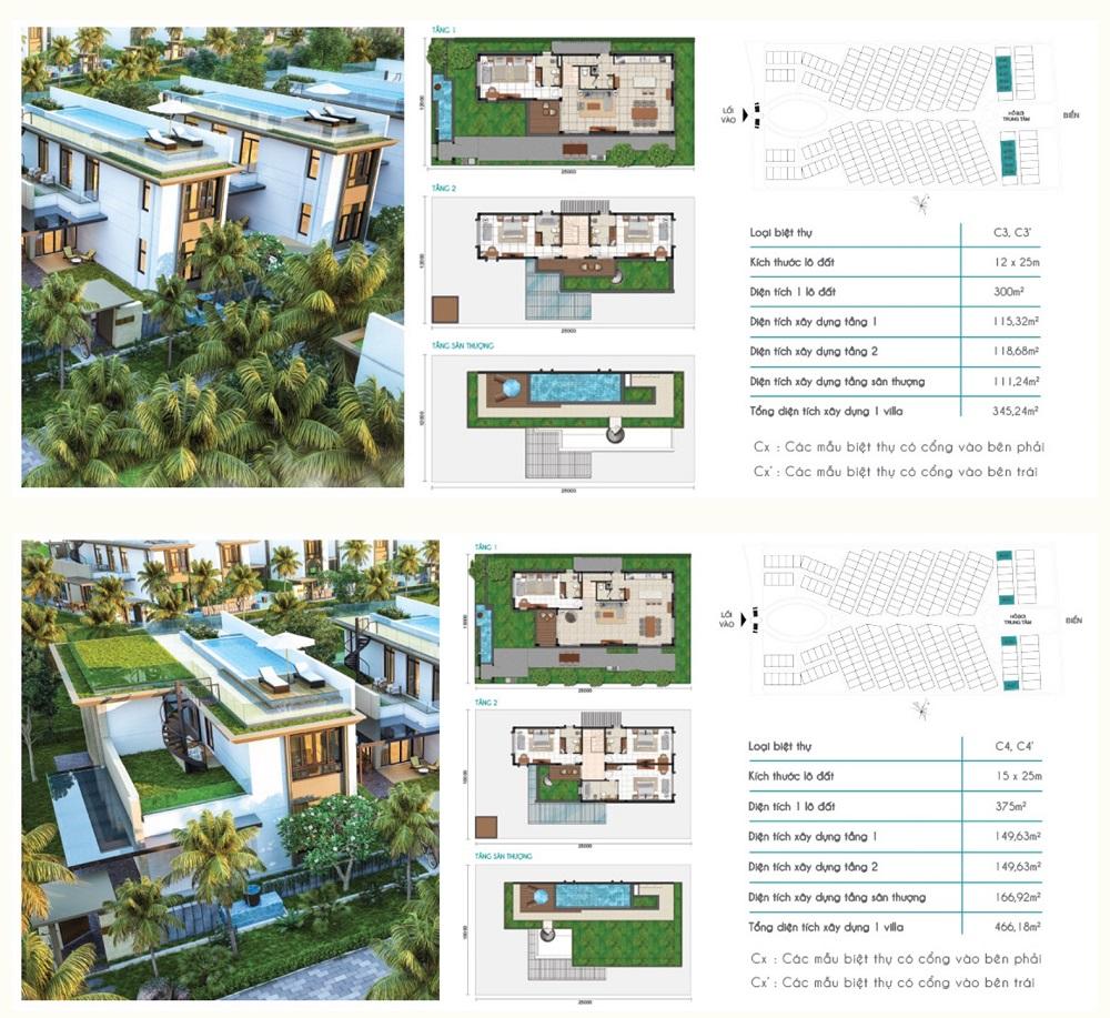 biệt thự cam ranh mystery villas - thiết kế