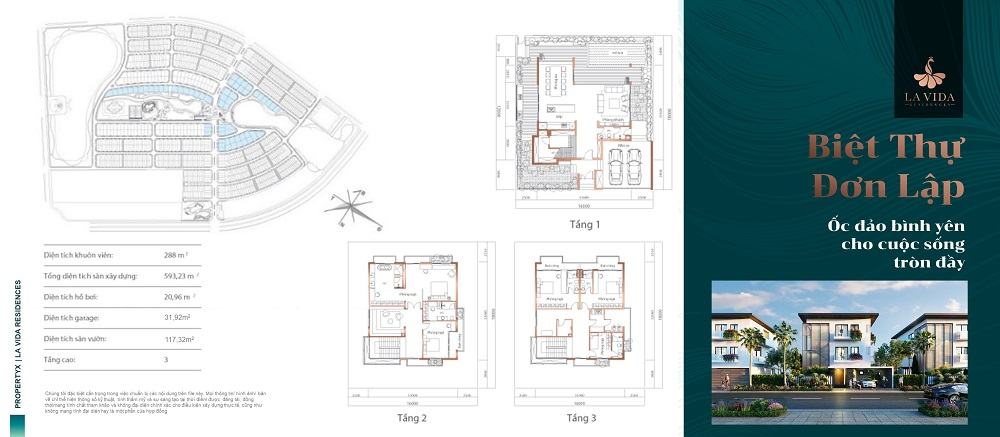 dự án la vida residences - tiện ích