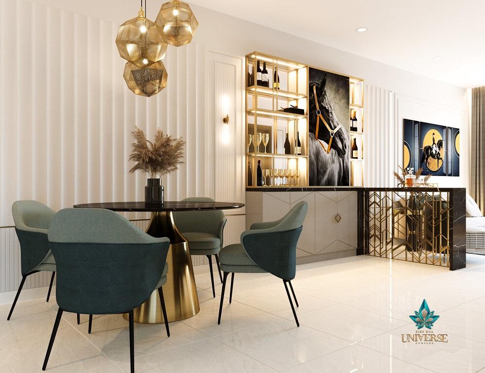 dự án biên hòa universe complex - thiết kế căn hộ