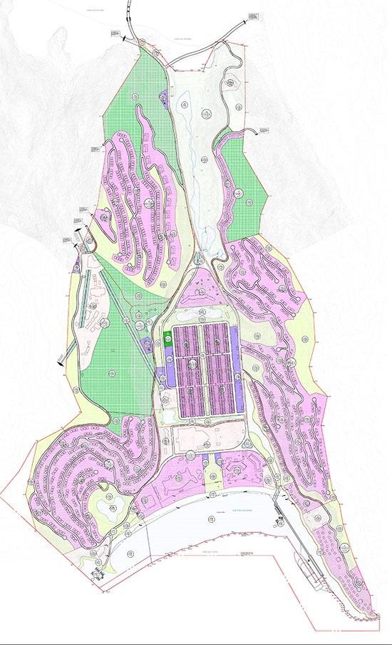 dự án hải giang merry land - mặt bằng dự án