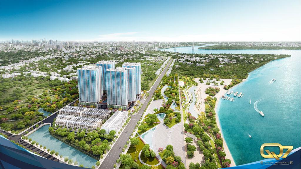 căn hộ Q7 saigon riverside complex - tổng quan dự án